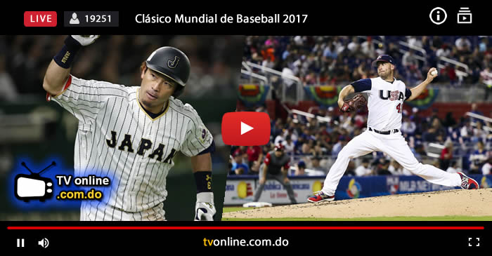 japon vs estados unidos en vivo japan vs usa online world baseball classic 2017