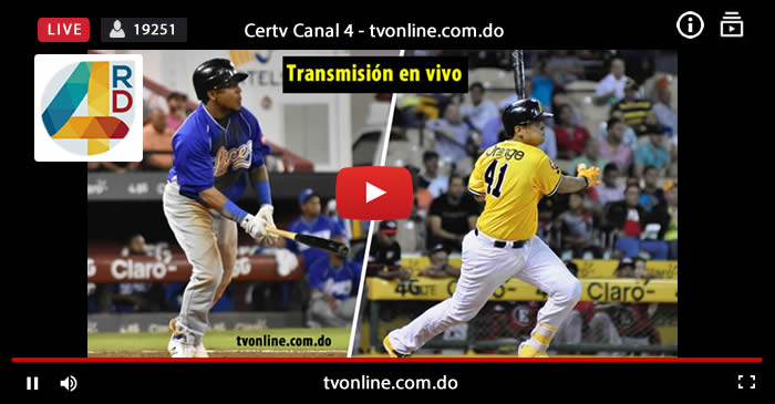 aguilas vs licey cetv canal 4 television dominicana